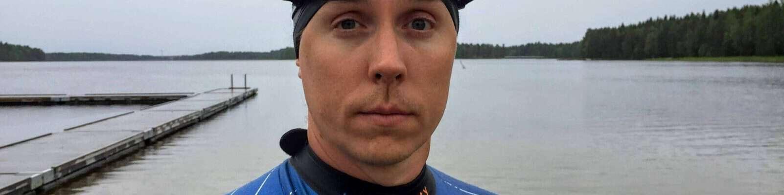 Inför Umeälvssimmet 2018 – Adrian Bengtson