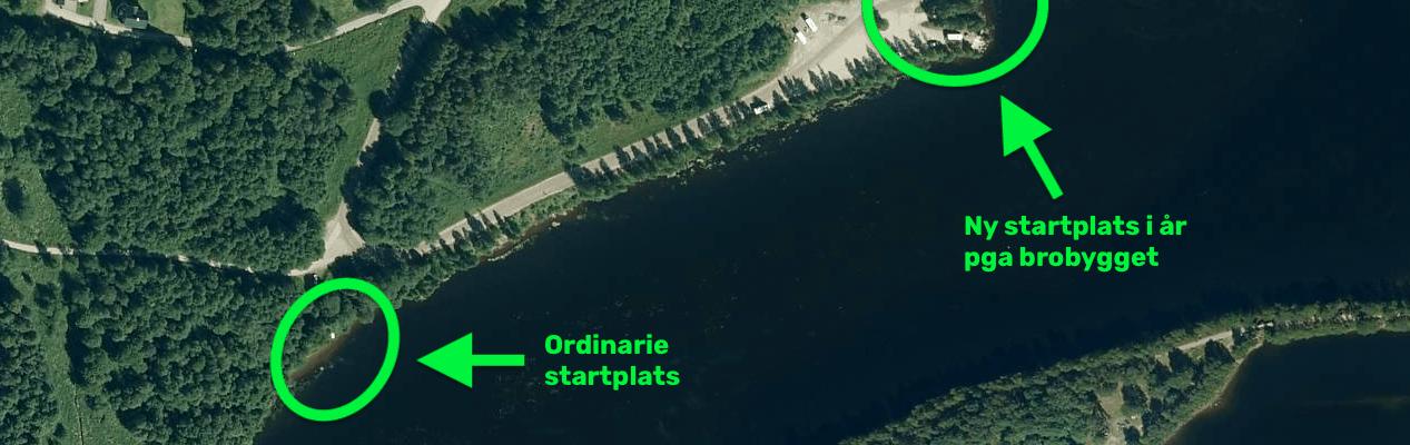 Flytt av startplats för Umeälvssimmet 2019